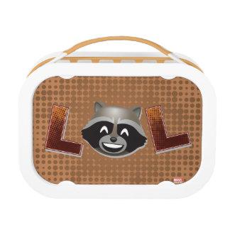 LOL Rocket Emoji Lunch Box