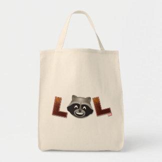 LOL Rocket Emoji Tote Bag
