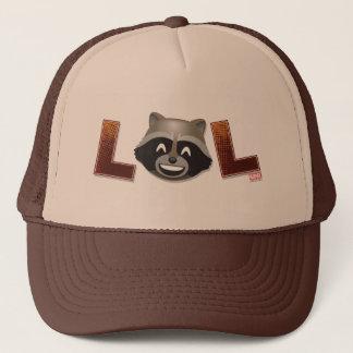 LOL Rocket Emoji Trucker Hat