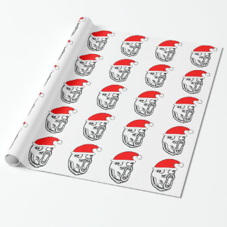 LOL Santa - xmas internet meme Gift Wrap