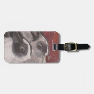 Lola and Vanilla luggage tag by Marie Theron