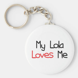 Lola Loves Me Key Ring