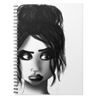Lola notes spiral notebook