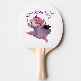 LOLA PIG Ping Pong Paddle,  Back FULL PRINT Ping Pong Paddle