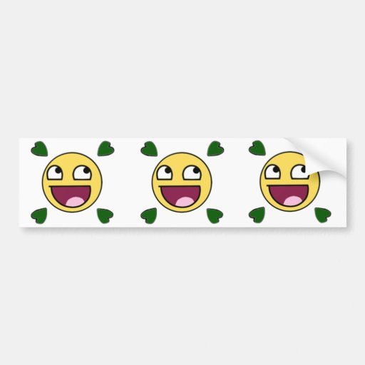 Lolface Bumper Sticker