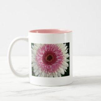 Lolipop Gerbera Daisy Two-Tone Mug