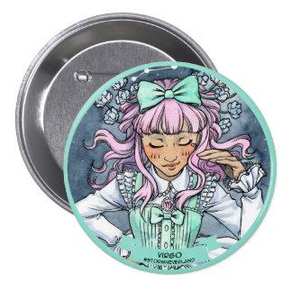 Lolita Zodiac: Virgo 7.5 Cm Round Badge