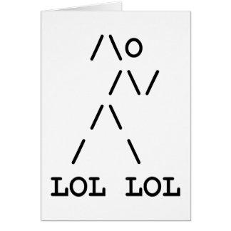 Lollerskates Greeting Card