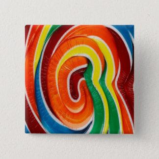 Lollipop 15 Cm Square Badge