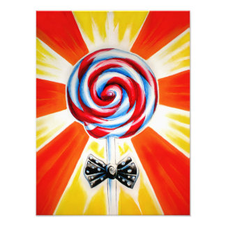 Lollipop Art Print (large)