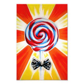 Lollipop Art Print (small)
