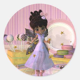 Lollipop Big Eyed Fairy Sticker