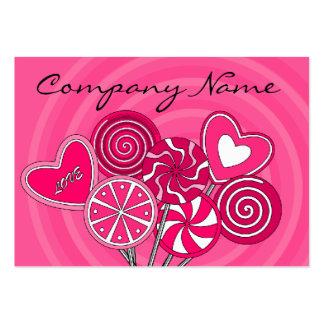 Lollipop Candy Shop Bakery Business Card Business Card