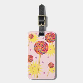 Lollipop Dance Luggage Tag