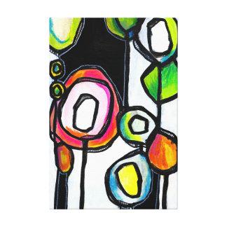 Lollipop Forest Canvas Print