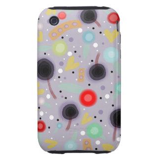 Lollipop hearts snow flora polka dots iphone 3 Cas Tough iPhone 3 Covers