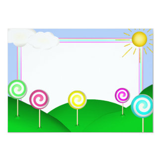 Lollipop land card