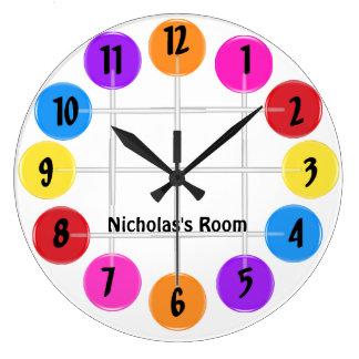 Lollipop Large Clock