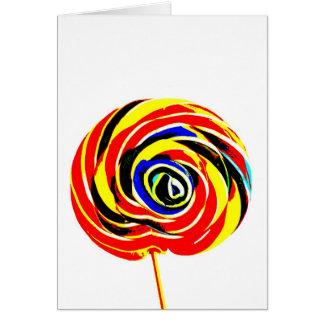 lollipop love card