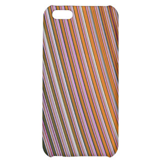 Lollipop stripes trendy abstract iPhone 5C cover