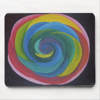 Lollipop Swirl Mousepad