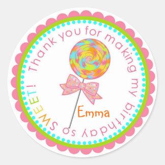 Lollipop Swirl Stickers