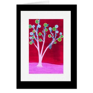 Lollipop Tree Card