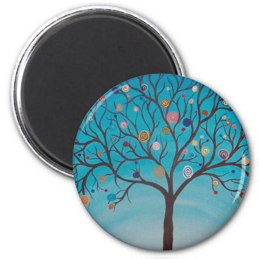 Lollipop Tree Magnets