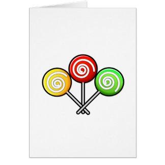 Lollipop Trio Card