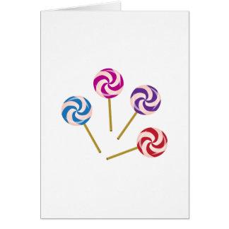 Lollipops Card