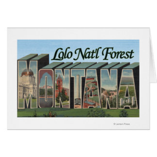 Lolo Nat'l Forest, Montana Card