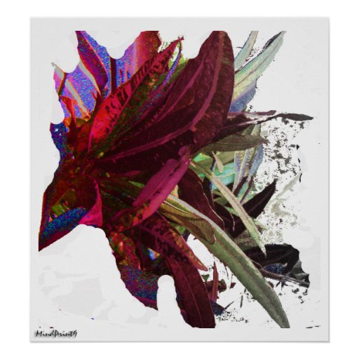 Lonavala Foliage - Abstract Print