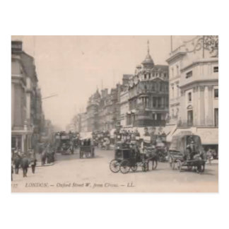 London 1900 Oxford Street Postcard