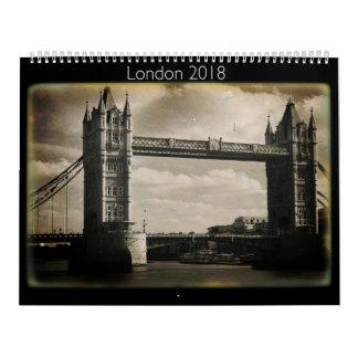 London 2018 Daguerreotype Calendar