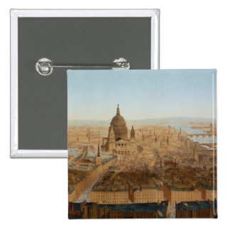 London a bird s eye view of St Paul s and the Ri Pin