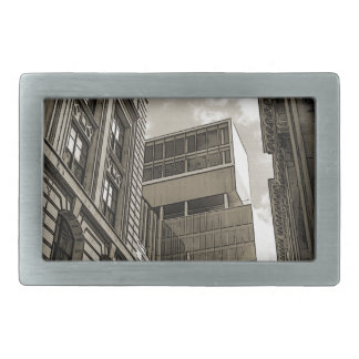 London architecture. belt buckle