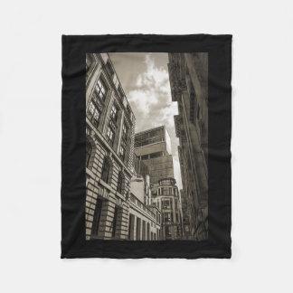 London architecture. fleece blanket