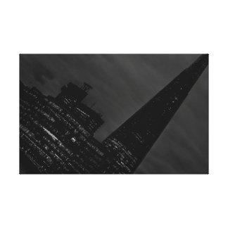 London at an angle canvas print