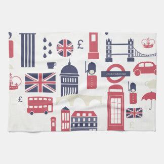 London at Heart Kitchen Towel