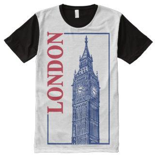 London-Big Ben All-Over Print T-Shirt
