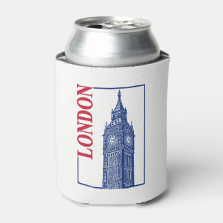 London-Big Ben Can Cooler