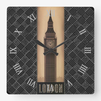 London Big Ben Classic Vintage Retro Design Wallclocks