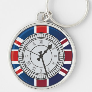 London Big Ben Clock Face  Keychain