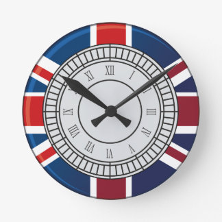 London Big Ben Clock Face Wall Clock