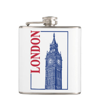 London-Big Ben Hip Flask