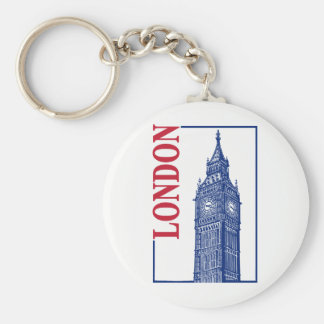 London-Big Ben Key Ring