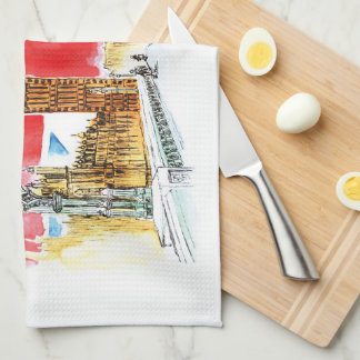 London Big Ben Kitchen Towel