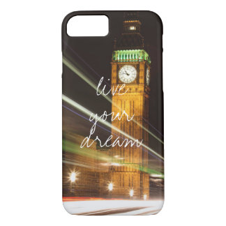 London Big Ben live your dream wanderlust travel iPhone 8/7 Case