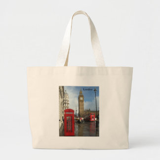 London Big Ben Phone box (by St.K) Tote Bag