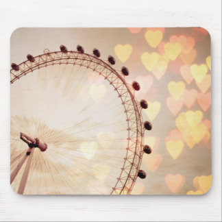 London | Big Ben Photograph Filtered Nightime Mouse Pad